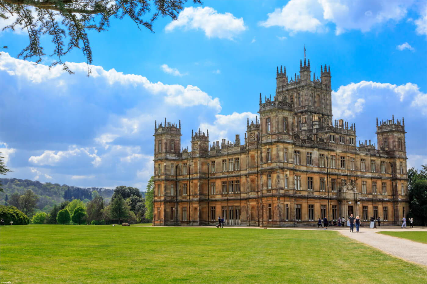 Downton Abbey House Highclere Castle