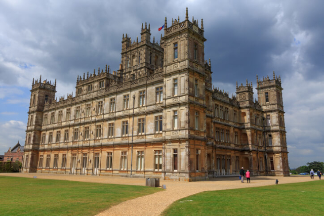 Highclere Castle, Downton Abbey House