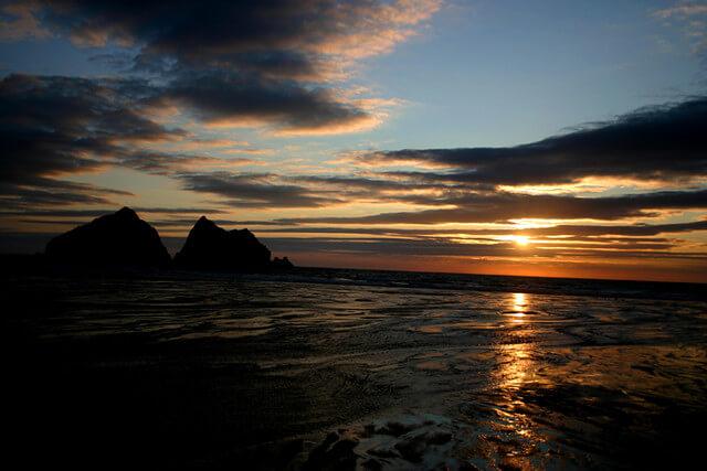 Holywell Bay Sunset, Newquay, Cornwall