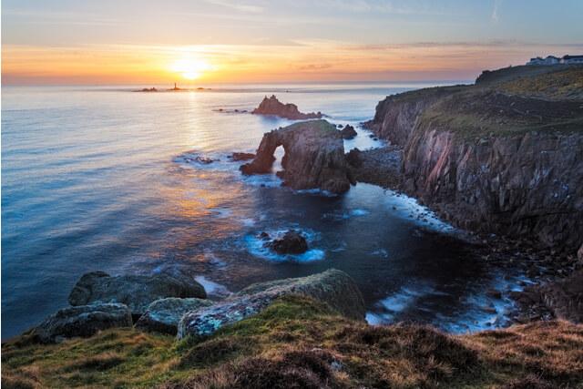 Land's End Coastal Sunset