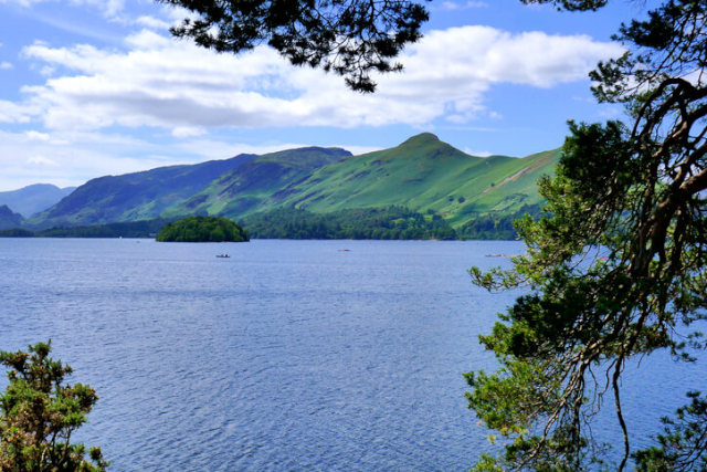 Cat Bells from Friars Crag