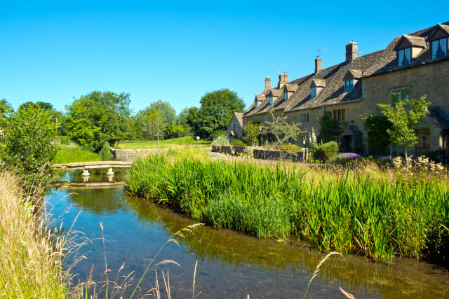 Cotswolds AONB houses