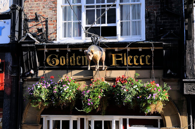 The Golden Fleece Pub, York
