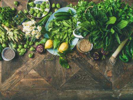 vegetables vegan ingredients