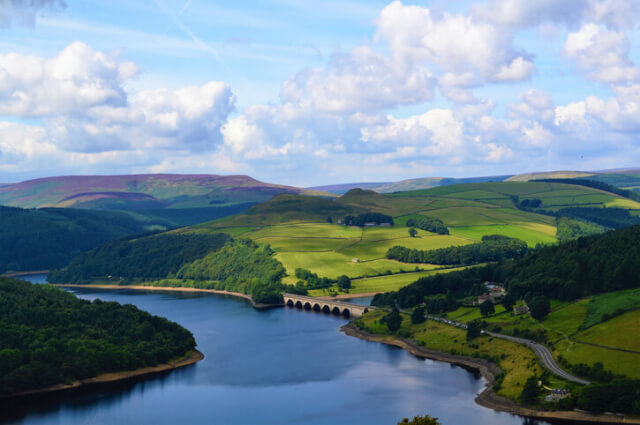 ladybower reservoir peak district