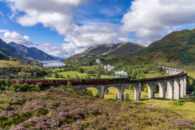glenfinnan viaduct scenery