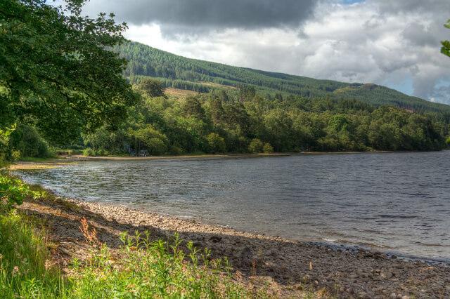 loch venachar scotland