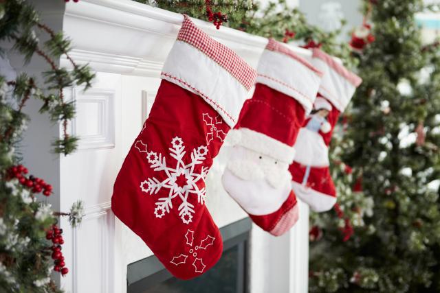 Christmas craft stockings