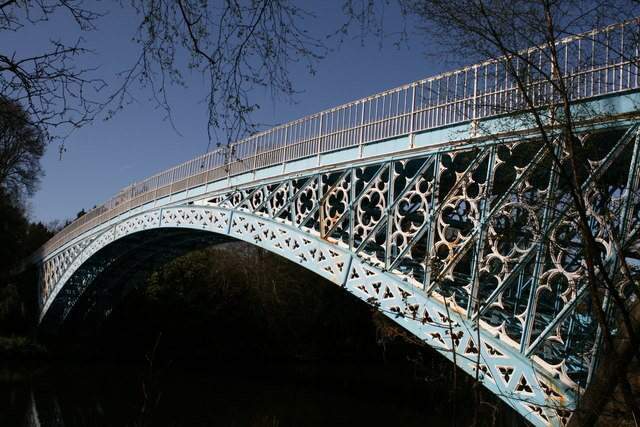 aldford iron bridge, Cheshire