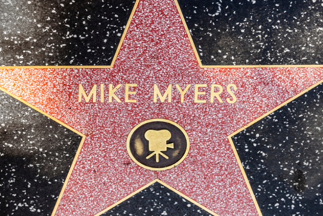 Mike Myers Hollywood Star