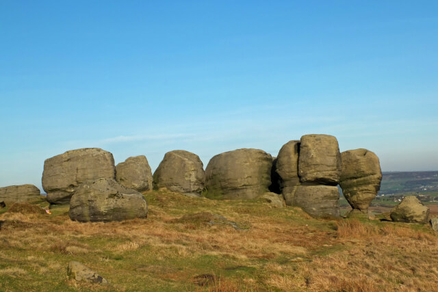 Bride Stones Moor West Yorkshire