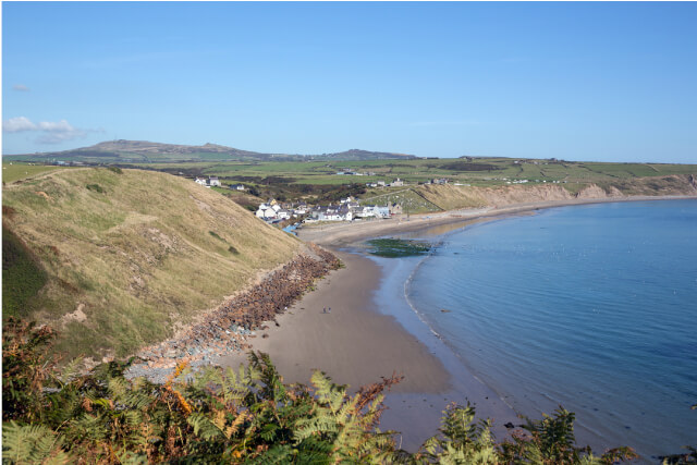 Aberdaron Beach on the Llŷn Peninsula
