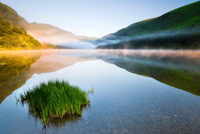 Lake in Glendalough
