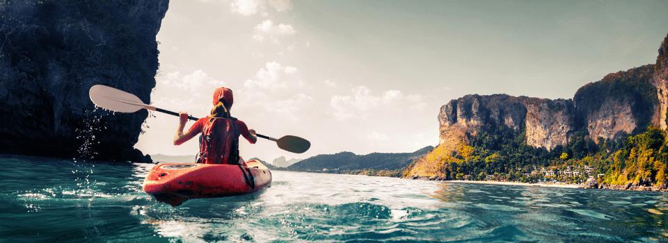holiday home kayaking