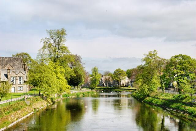River Kent in Kendal