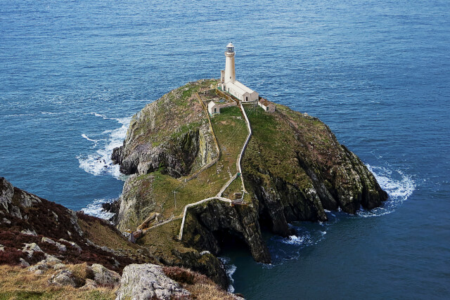South Stack Lighthouse on the Isle of Anglesey