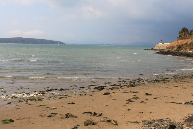 Views of the coast from Abersoch Beach