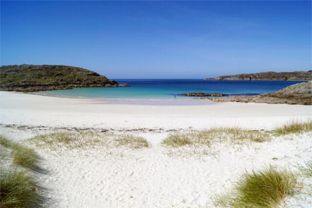 Achmelvich beach, Scottish highlands