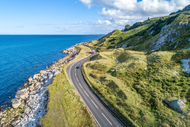 The Causeway Coastal Route, Northern Ireland