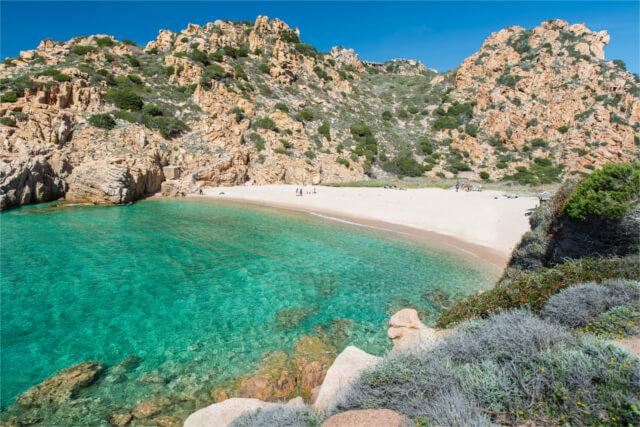 Spiaggia di Li Cossi, Sardinia
