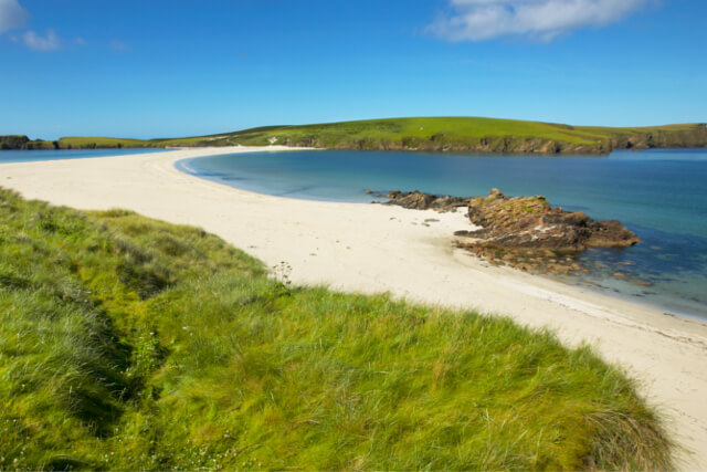 St. Ninians Isle beach, Shetland