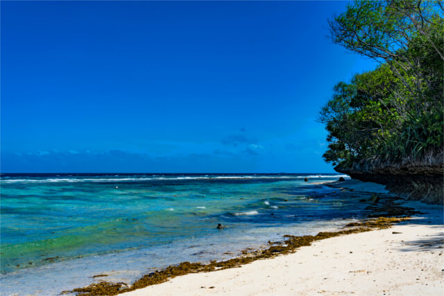 Sumilon Blue water Island, Cebu, Philippines