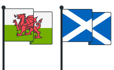 do wales and scotland pay stamp duty