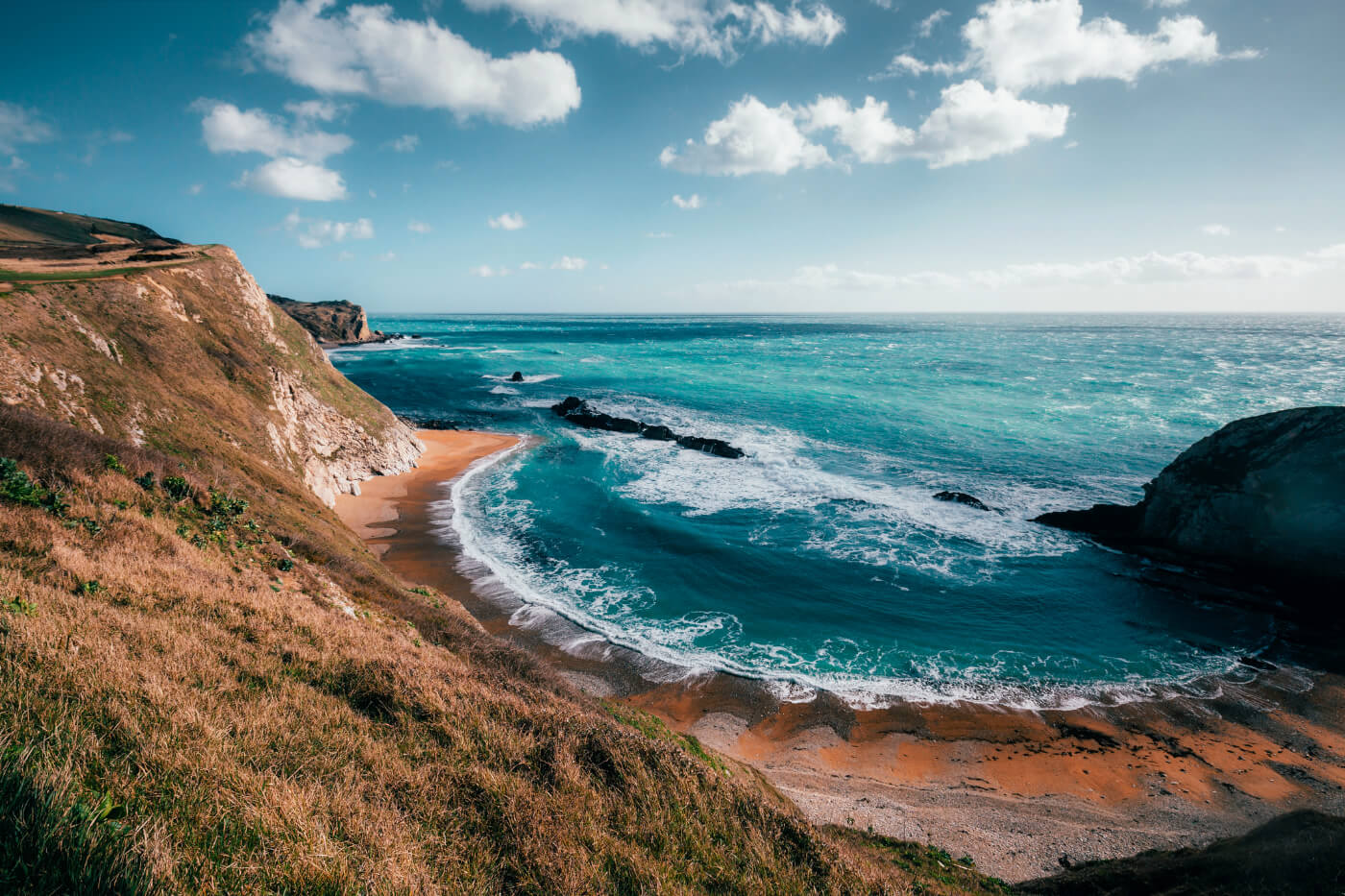 secluded beaches in the uk