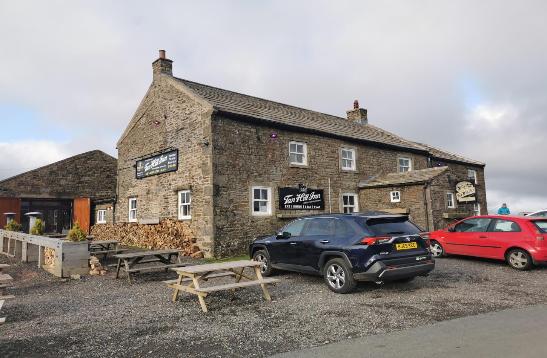 highest pub in england