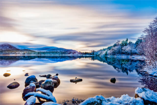 Loch Morlich, Aviemore, Scottish Highlands