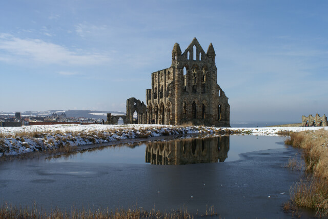 Whitby in winter