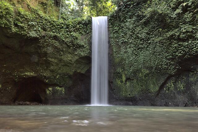 Waterfall in Ubud, Bali