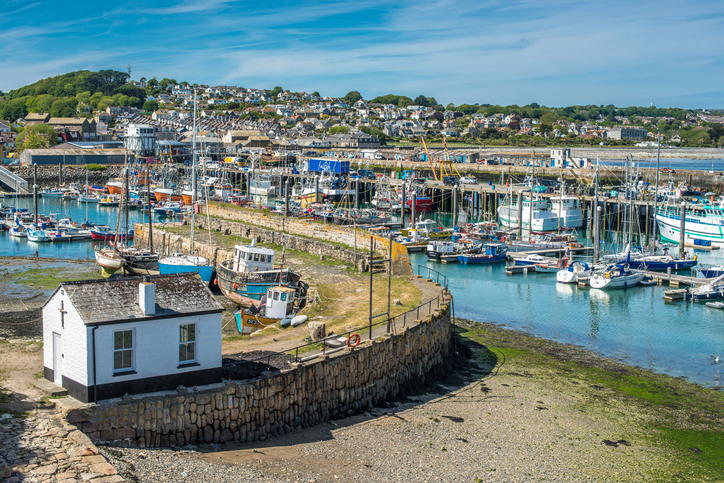 harbour at newlyn cornwall