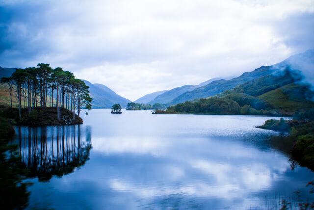 Loch Morar in Scotland