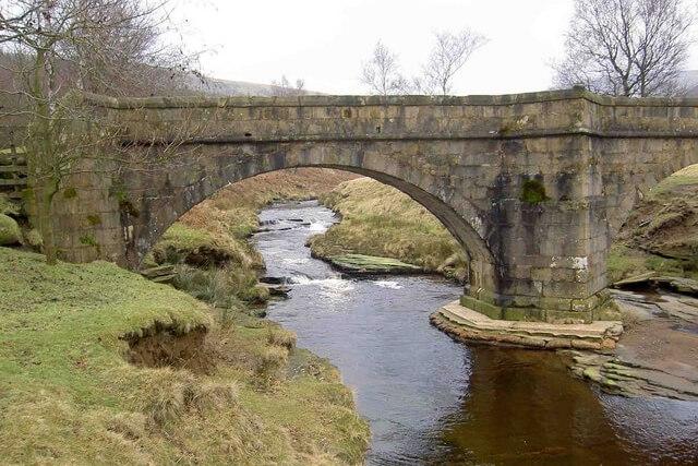Packhorse bridge at Slippery Stones