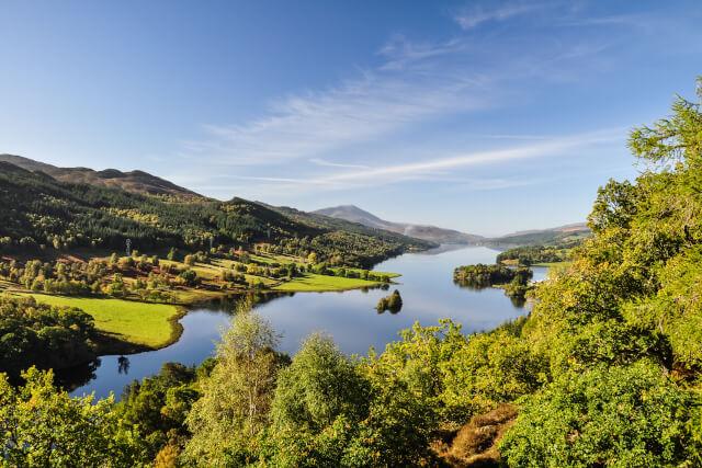 Queen's View at Loch Tummel