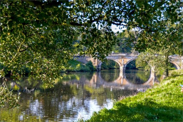 River Derwent by Chatsworth Estate