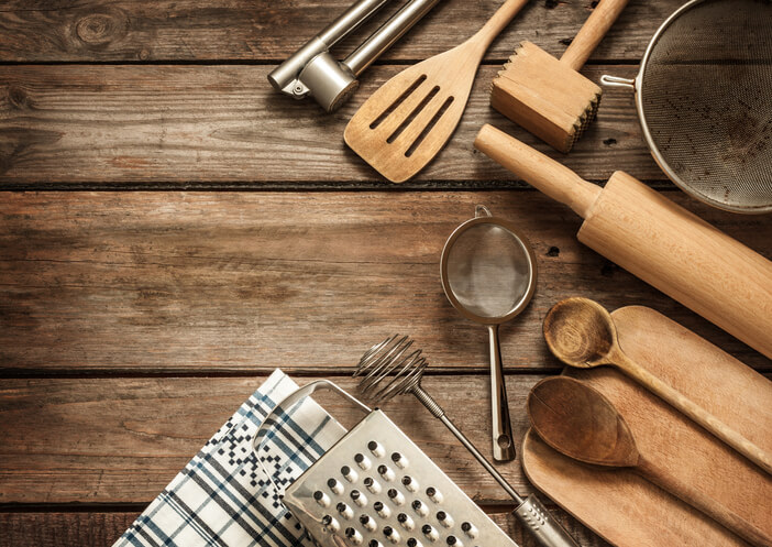 utensils for kitchen