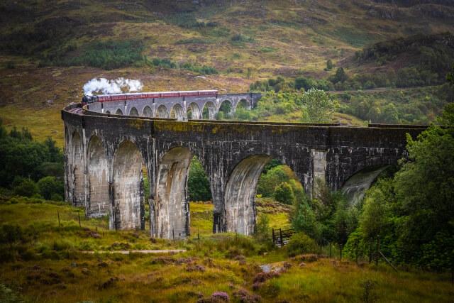 Glenfinnan Railway Viaduct, Scottish Highlands
