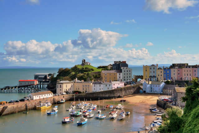 Tenby Harbour, South Wales