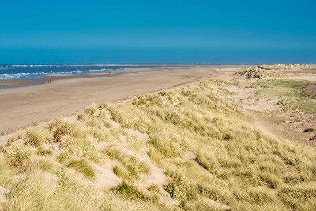 Holkham bay beach