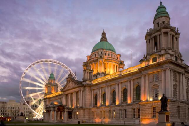 City Hall and Belfast Eye, Belfast