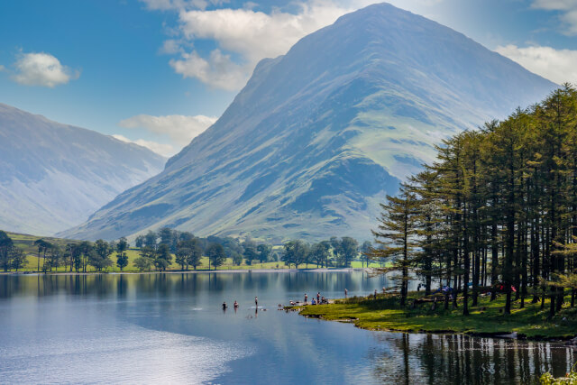 Lake Buttermere in the Lake District