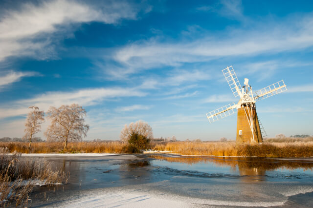Photograph of the Norfolk Broads