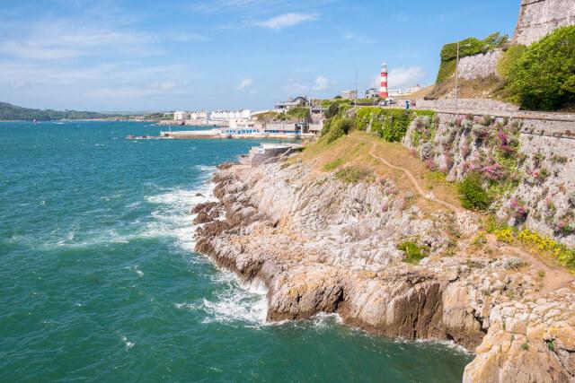 Plymouth coastline