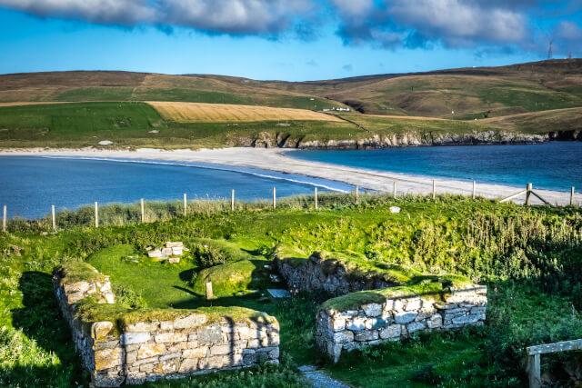 St Ninian's Beach, Shetland Islands