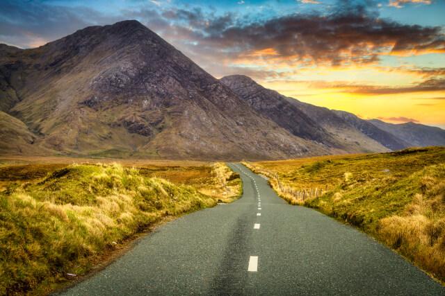 Connemara Sky Road Ireland Road Trip