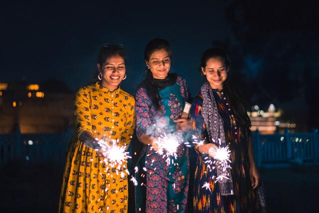 Diwali is a global celebration