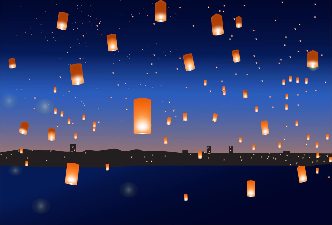 facts about Diwali lanterns