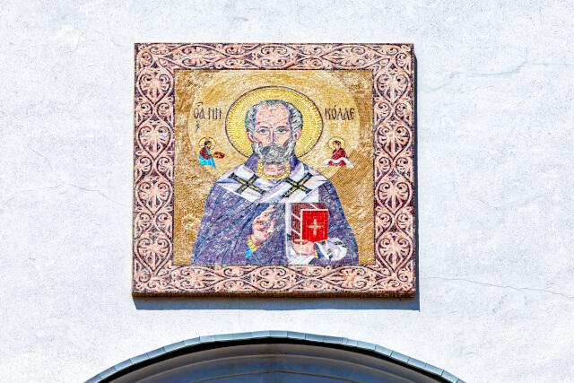 St Nicholas mural